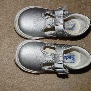 Silver Toddler Keds